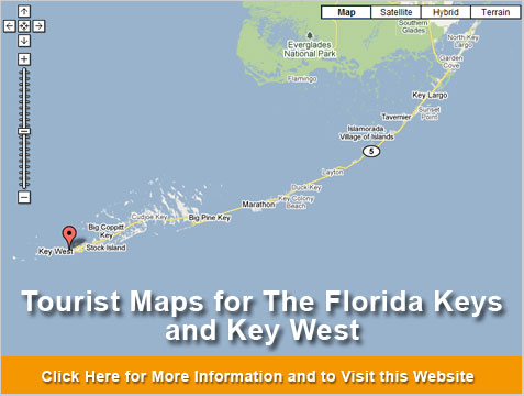 Map Of Florida Key West.Florida Keys And Key West Maps