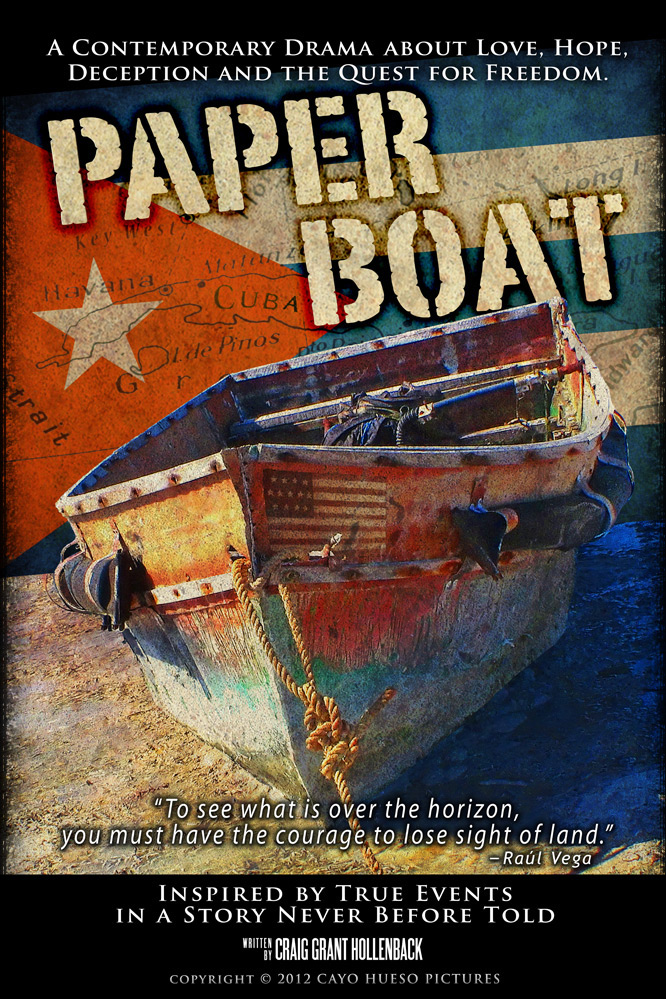 Paper Boat, a feature film written and produced by Craig Grant Hollenback
