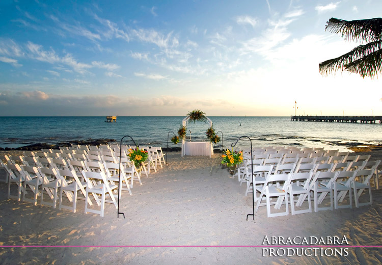 Florida Keys Wedding Photos Courtesy Of Abracadabra Productions 305 393 7000