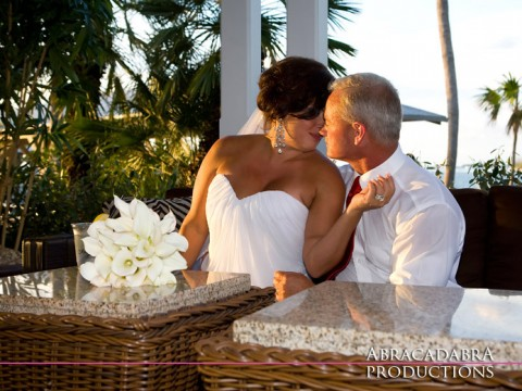 Key West Wedding at Sunset Key, photography by Abracadabra Productions